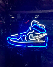 Load image into Gallery viewer, Neon Jumpman (Blue)