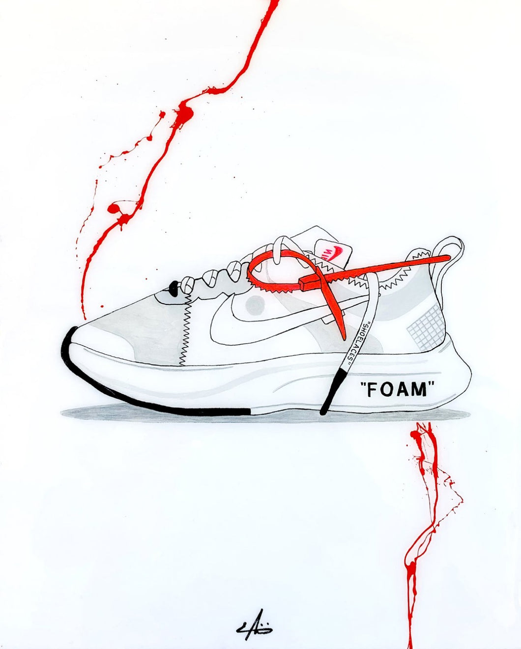 Virgil Abloh x Zoom Fly