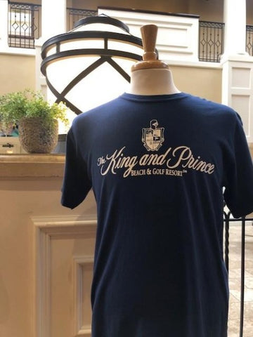 King and Prince Apparel - Unisex -  T shirt - Navy