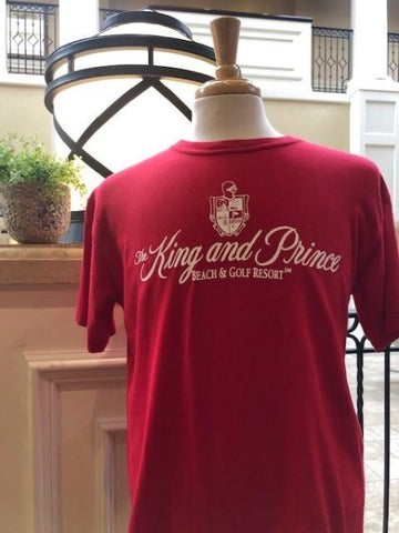 King and Prince Apparel - Unisex - T shirt - Red