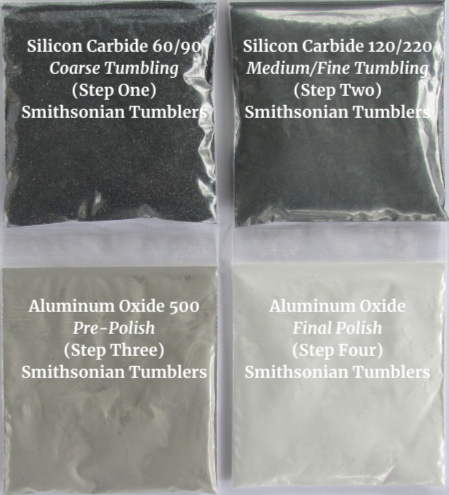 Smithsonian Tumbler Refill Kit, grit and polish