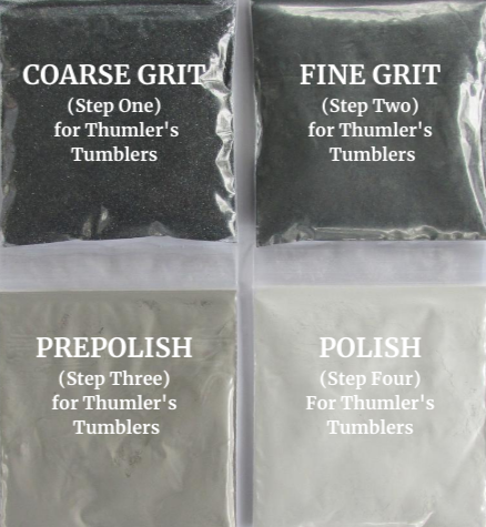 Thumlers tumbler grit refill with polisth