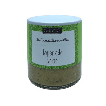 Tapenade olives verte traditionnelle de Provence 100g