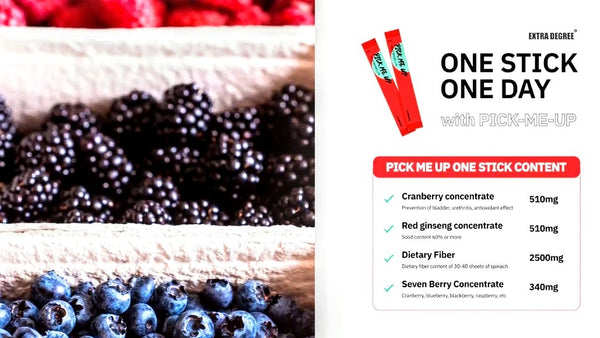 Pick-Me-Up Red Ginseng Cranberry Jelly Stick (2 weeks pack)[Expiry Date: April 22, 2021]