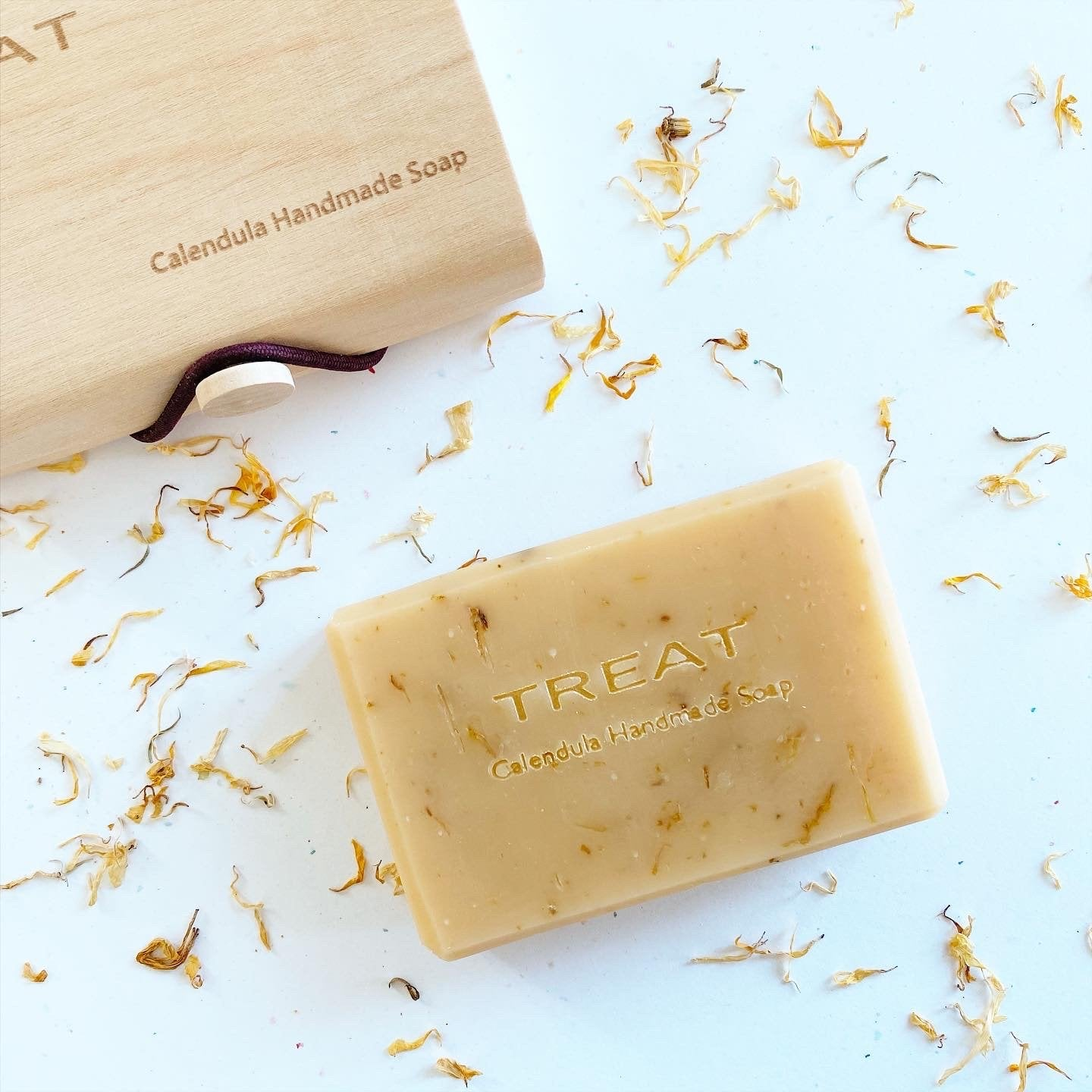 TREAT for body - Calendula Handmade Soap