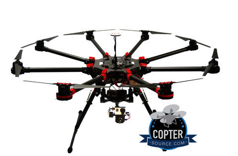 s1000+ Ready to Fly Thermal with Duplex GoPro / FLIR Gimbal, , , DJI, Copter Source - 1