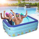 Mini Piscine Gonflable Rectangulaire
