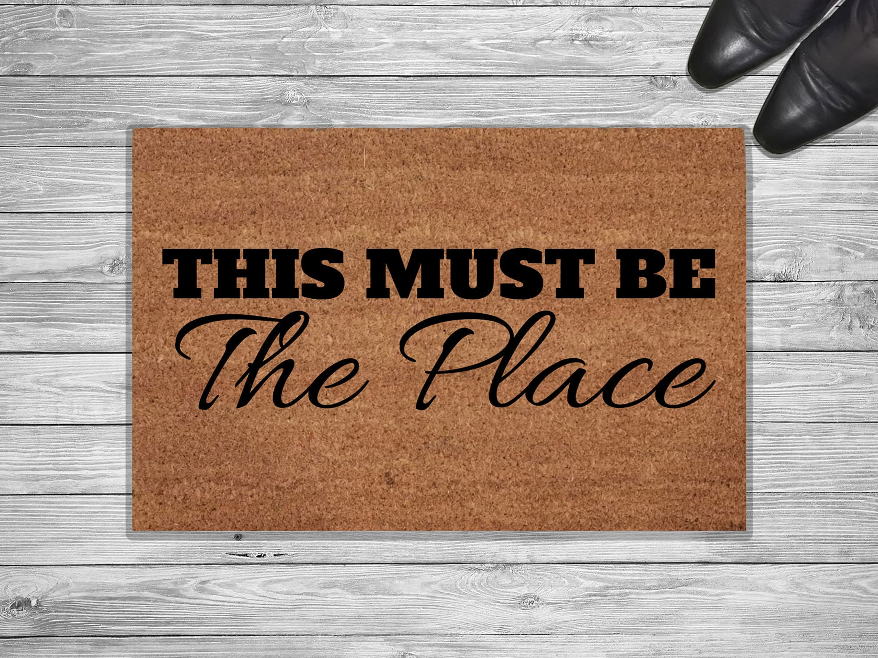 This Must Be The Place Customized Doormat
