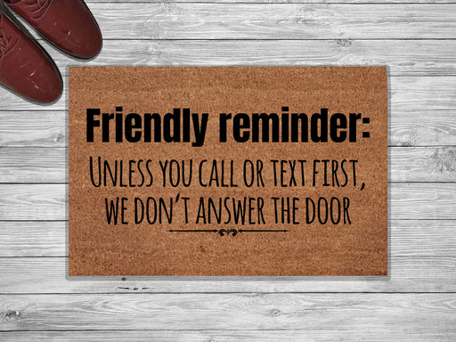 Friendly Design Customized Doormat