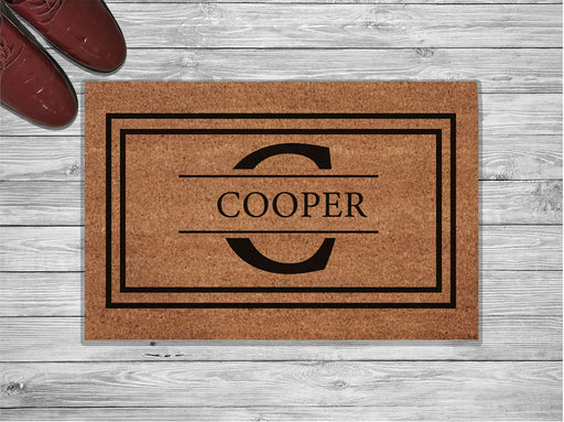 Cooper Design Personalized Doormat