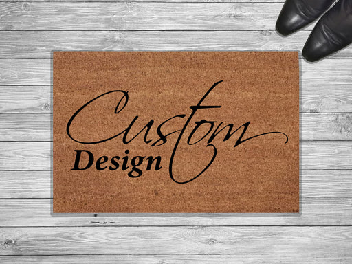 Custom Design Personalized Doormat