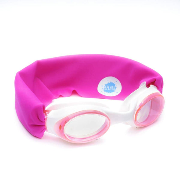 Pretty in Pink Swim Goggles
