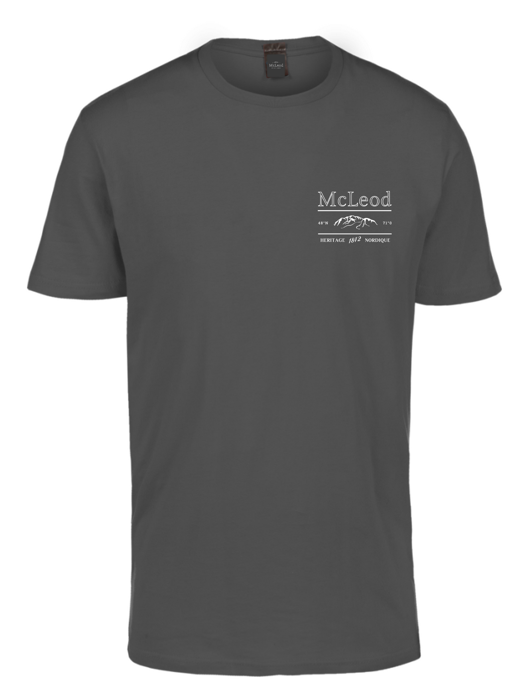 Price - t-shirt charcoal - McLeod Heritage