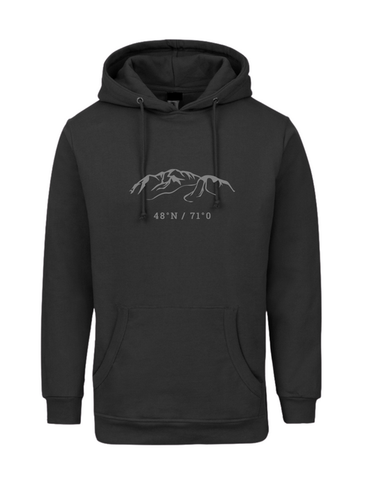 Evan - Hoodie en french terry noir - McLeod Heritage