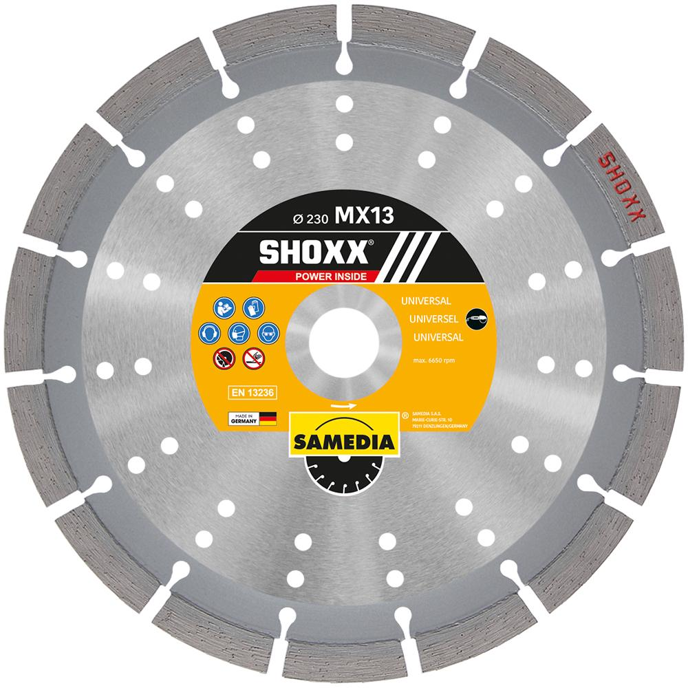 Diamond Blades - SHOXX MX13 – 14″ Blade