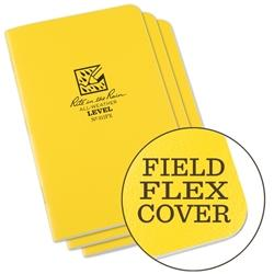 "Field Books - Rite In The Rain 311FX All-Weather Level Stapled Notebooks, 4 5/8"" X 7"""