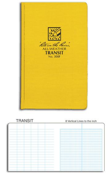 Field Books - Rite In The Rain Bound Book — Transit Pattern Pages