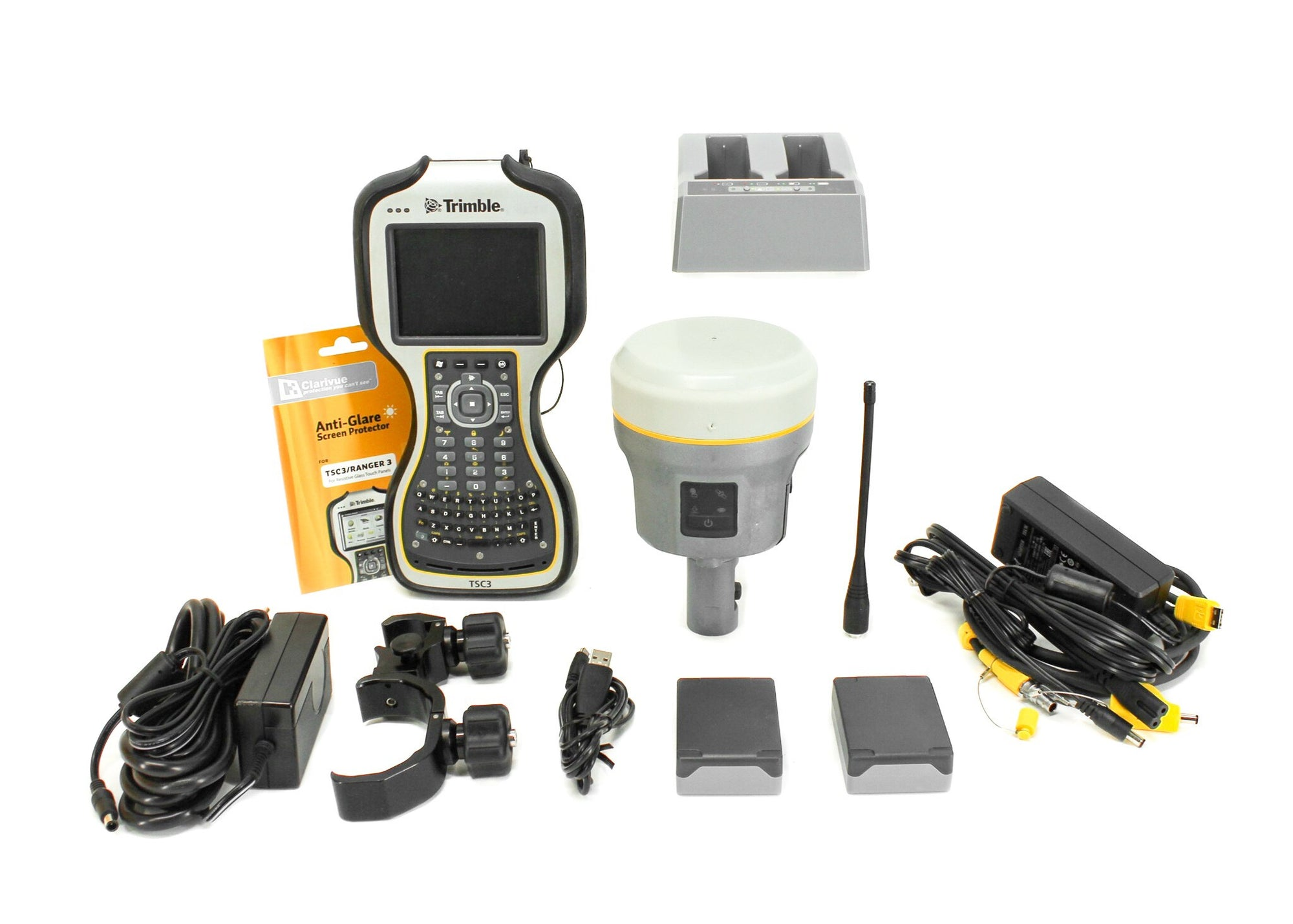 GPS RTK - Pre-Owned Trimble Single R10 Receiver GPS Kit W/ TSC3 Data Collector & Access Software