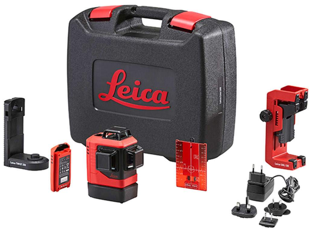 Measuring Tool - Leica Lino L6R-1 Self-Levelling 3x360° Laser, Red Beam, Li-Ion