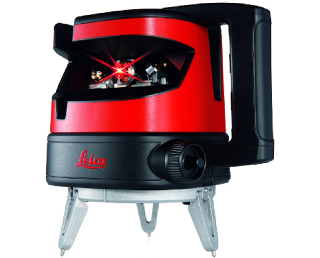 Measuring Tool - Leica Lino ML90 Multi Line Laser With Electronic Self-Levelling, Manual Fine Adjustment, Red Beam