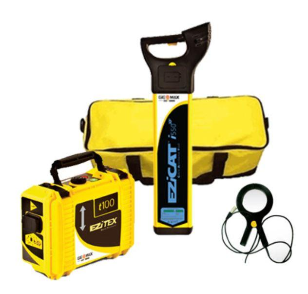 Pipe & Cable Locators - GeoMax EZiCAT I550 Cable Locator Package