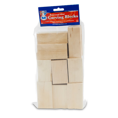 Basswood Mini Carving Block Bag-SKU 21