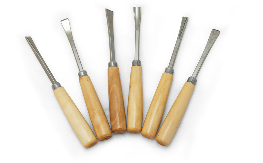 6 Piece Carving Knives Set Sku 3802 Midwest Products