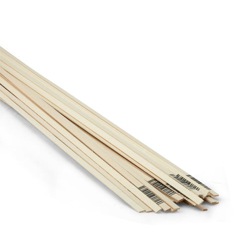 1/16 x 1/4 x 24 Basswood Strips-SKU 4026