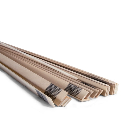 1/16 x 1/2 x 24 Basswood Strips-SKU 4029