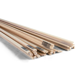 1/8 x 1/4 x 24 Basswood Strips-SKU 4046