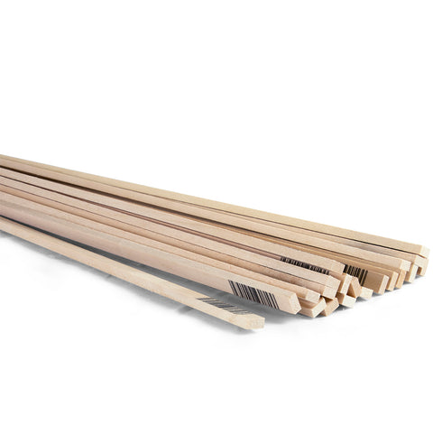 3/16 x 3/8 x 24 Basswood Strips-SKU 4058