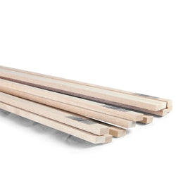 1/4 x 1/2 x 24 Basswood Strips-SKU 4069