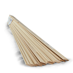 1/8 x 1 x 24 Basswood Sheets-SKU 4104