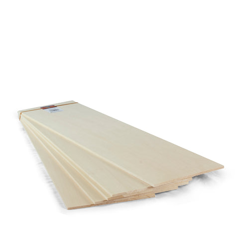 3/16 X 6 X 24 Basswood Sheets-SKU 4128