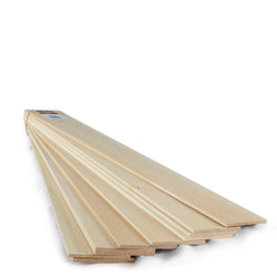 3/16 x 3 x 24 Basswood Sheets-SKU 4305