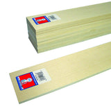 .0416 x .0833 x 11 Basswood Architectural Scale Lumber-SKU 8018