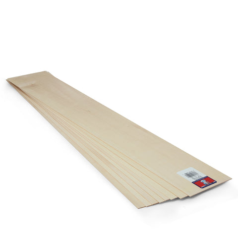 1 16 X 4 X 24 Basswood Sheet Sku 4402 Midwest Products