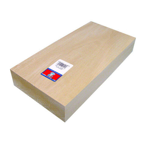 2 x 6 x 12 Basswood Block-SKU 4430