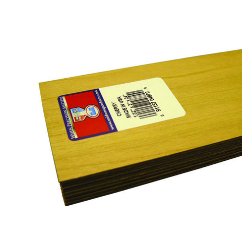 1/32 X 3 X 24 Cherry Wood-SKU 4870W