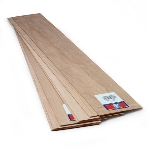 1/16 X 3 X 24 Cherry Sheets-SKU 4871W