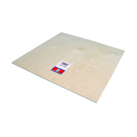 3 mm (1/8) x 12 x 12 Craft Plywood-SKU 5305