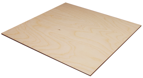 "3 mm x 12"" x 12"" Craft Plywood - SKU 5305W"