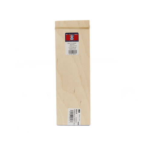 1/4 x 4 x 12 Craft Plywood - SKU 5313