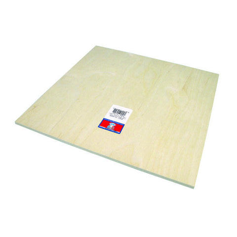 6mm (1/4)x12x12 Craft Plywood - SKU 5315