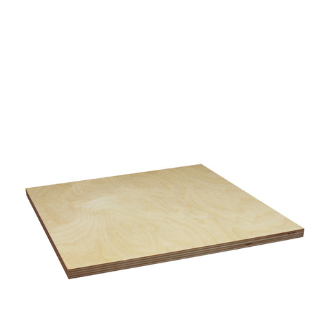 "12mm (1/2) x 12"" x 12"" Craft Plywood - SKU 5335"