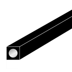 .196 OD x .125 ID x 40 Carbon Fiber Square Tube-SKU 5854