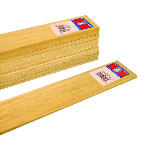 1/4 X 2 X 36 Balsa Wood-SKU 6206W