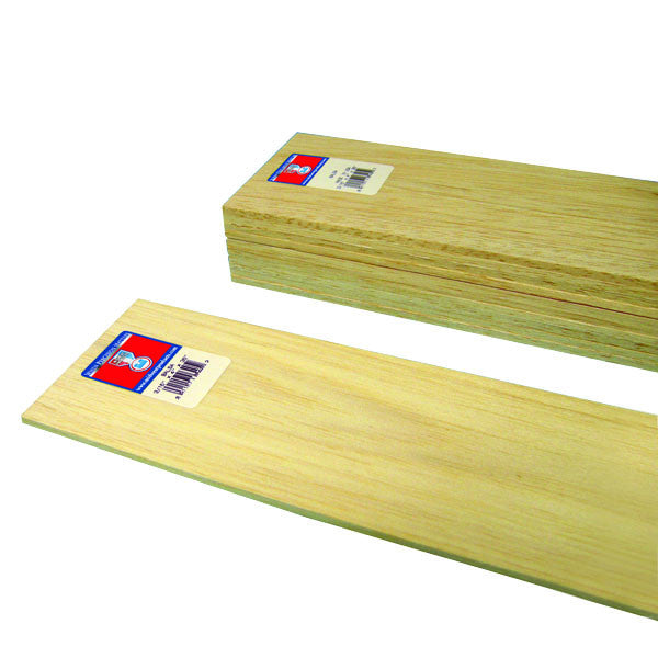 3/16 x 4 x 36 Balsa Wood-SKU 6405