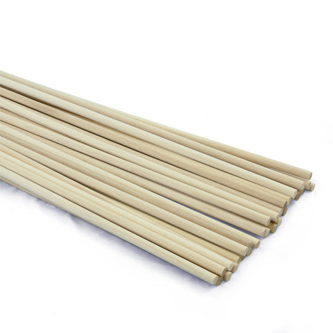 1/4 dia. x 36 Birch Hardwood Dowels-SKU 7906