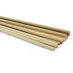1/2 dia. x 36 Birch Hardwood Dowels-SKU 7909